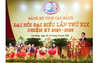 350 délégués au 19e Congrès de l'organisation du Parti pour la province de Cao Bang