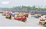 48 équipes participeront à la course de pirogues de Soc Trang 2020