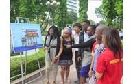 """Ouverture de l'exposition de photos """"Des moments à Truong Sa"""" à Thai Nguyen"""