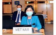 La délégation vietnamienne participe activement à la 45e session du Conseil des droits de l