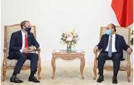 Le PM Nguyên Xuân Phuc reçoit le ministre britannique des Affaires étrangères