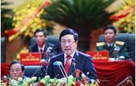 17e Congrès provincial du Parti: M. Pham Binh Minh montre la voie à Hai Duong