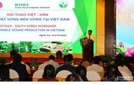 Vietnam et République de Corée coopèrent dans la production du sésame