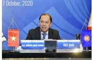 Réunion par visioconférence des hauts officiels de l'ASEAN