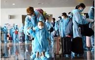 COVID-19: plus de 700 Vietnamiens rapatriés de Russie, des Etats-Unis et du Japon