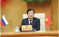 Renforcement de la coopération entre le Vietnam et la Russie