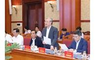 5e réunion du sous-comité d'organisation au service du 13e Congrès national du Parti