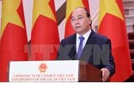 Le PM Nguyên Xuân Phuc à l'ouverture en ligne de la 17e Foire Chine-ASEAN