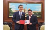 Un dirigeant de Ho Chi Minh-Ville fait grand cas des contributions du consul général de R. de Corée