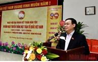 Arrondissement de Tay Ho: M. Vuong Dinh Hue à la fête de grande solidarité
