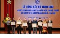 Annonce des gagnants de la campagne de composition littéraire et artistique pour célébrer le 1010e anniversaire de Thang Long - Hanoi