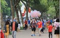 Hausse du nombre de touristes à Hanoi en novembre