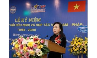L'Association d'amitié Vietnam-France célèbre son 65e anniversaire