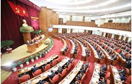 Première journée du 14e Plénum du Comité central du Parti