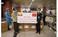 Le Vietnam continue à soutenir le Myanmar dans sa lutte anti-coronavirus