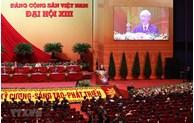Ouverture du 13e Congrès du Parti: Accélérer le Renouveau, le développement rapide et durable 