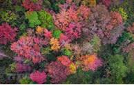 Hiver coloré dans une province montagneuse