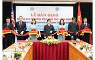 Le Vietnam reçoit du matériel des Etats-Unis pour l