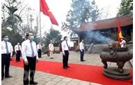 Activités festives exclues lors du Festival 2021 des temples des rois Hung