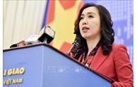 Le Vietnam demande aux pays concernés de respecter sa souveraineté en Mer Orientale