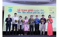 """Remise de prix du concours """"Hanoi, la ville que j"""