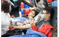 Don de sang: Ouverture de la Fête du printemps rouge 2021