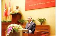 Le Premier ministre Nguyên Xuân Phuc souligne les acquis et montre la voie