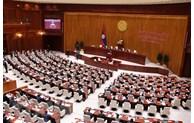 Messages de félicitations aux dirigeants laotiens
