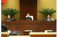 La présidente de la 14e législature de l'Assemblée nationale libérée de ses fonctions