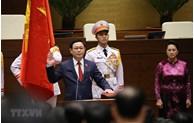 M. Vuong Dinh Hue élu président de l