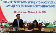 Supervision de la préparation des élections  à Bac Ninh