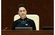 Procédures pour libérer de ses fonctions la présidente de l'Assemblée nationale