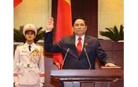 M. Pham Minh Chinh élu Premier ministre vietnamien