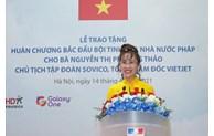 La directrice générale de Vietjet décorée de la Légion d'honneur