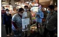 COVID-19: La capitale cambodgienne ferme un marché de gros