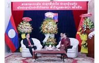 Des dirigeants de Ho Chi Minh-Ville félicitent le Laos à l
