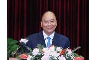 Le président Nguyên Xuân Phuc travaille avec Dà Nang et Quang Nam