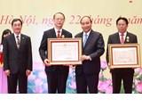 Des scientifiques exceptionnels de l'Union des Associations scientifiques et technologiques honorés