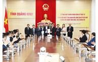 Quang Ninh délivre le certificat d