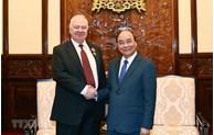Le président Nguyen Xuan Phuc reçoit l'ambassadeur de Russie
