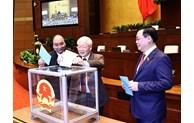 Le Premier ministre Nguyen Xuan Phuc libéré de ses fonctions