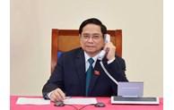 Félicitations du PM lao au nouveau Premier ministre vietnamien Pham Minh Chinh