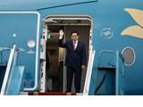 Le Premier ministre quitte Hanoï pour la réunion des dirigeants de l'ASEAN à Jakarta
