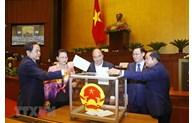 Mener les procédures pour élire les vice-présidents de l'Assemblée nationale