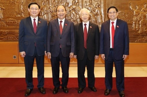 Les félicitations continuent d'affluer aux nouveaux dirigeants du Vietnam