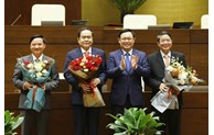 Elections de trois vice-présidents de l'Assemblée nationale