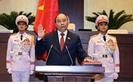 Le nouveau président vietnamien prête serment