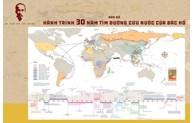 """Publication d'une """"Carte du voyage de 30 ans de l"""