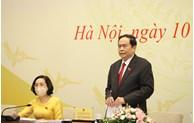 Annonce de la liste de 499 personnes élues députés à la 15e Assemblée nationale