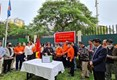 La communauté vietnamienne au Mozambique contribue au Fonds national de vaccination anti-Covid-19